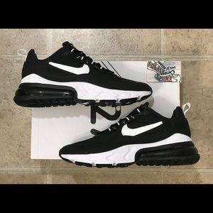 NEW Nike Air Max 270 React Black White Running Men